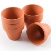 Mini Terracotta Pots & More