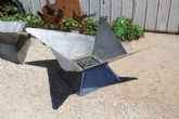 Triangle Fire Pit