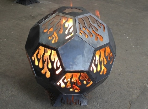 Flame Geodesic Fire Pits From: