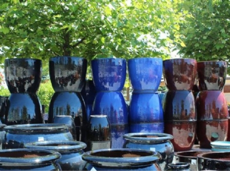 NEW range of gazed pots arriving soon