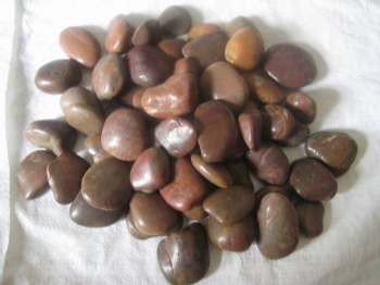 Polished Red Pollished Pebbles Australia Melbourne